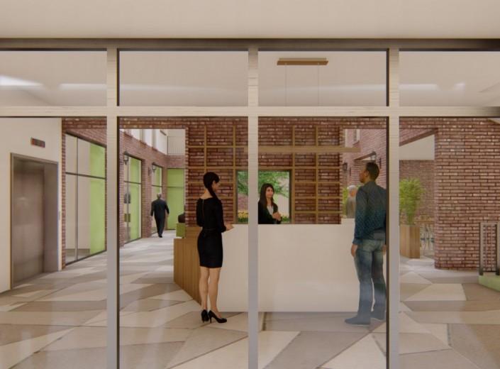 """Početak unutarnjih radova na projektima """"Dom za starije i nemoćne"""" te na susjednom prodajnom centru"""