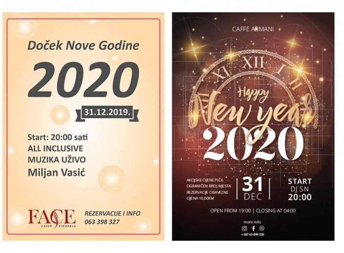 Doček Nove Godine 2020